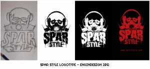 Spar Style Logotype by engin-design