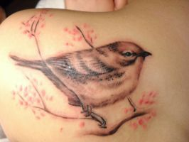 Cuban Songbird Tattoo by McTats