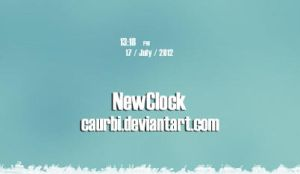 NewClock by caurbi