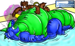 Pooltoy Bloat Coloured by minnagowaseiryuu
