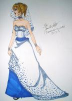 Wedding Dress Design by DizDear