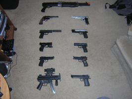 My Arsenal ::updated:: by timesplitter88