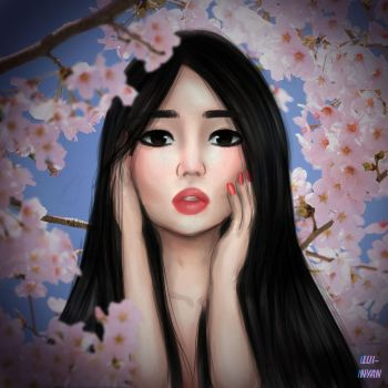 cherry blossom by lui-nyan