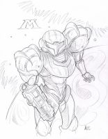 Metroid Prime by MCcomics