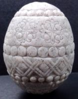 Stamped Stone Egg by Ranasp