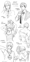 About sexy poses by CHAYI105
