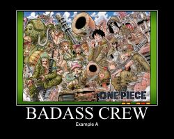One Piece Badass Crew by trebor469