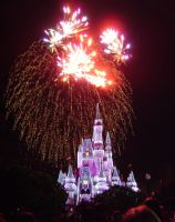 Cinderellas Castle at Night:22 by CanisCamera