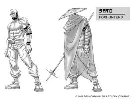 Shinobi Sato Final design by jofsuarez