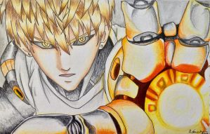 Genos- One Punch Man by sintu-manga