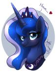 MLP FIM - Princess Luna Portrait by Joakaha