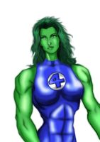 She Hulk by MarianGTS