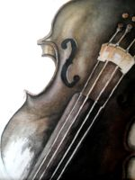 unfinished violin by jamarante