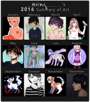 2016 Summary of Art by awinq