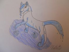 Element Water Wolf by AwesomeDangerWolf