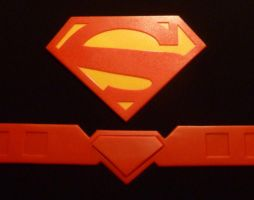 Superman Belt and Logo (New 52) by 4thWallDesign