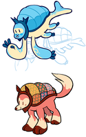Weighted Blanket Creatures by Strontium-Chloride