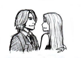 Mr. Gold and Emma Swan by AllenLenalee
