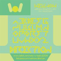 direction font by weknow by weknow