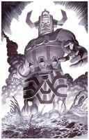 Galactus- Marker Illo by ChristopherStevens