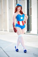 Miss Captain America III by EnchantedCupcake