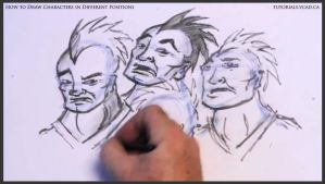 Learn to draw characters in different positions 29 by drawingcourse
