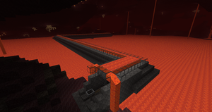 Minecraft hell tube 2 by Kane133
