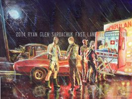 The Life Story Of A 1970 Chevy Chevelle (Part 39) by FastLaneIllustration