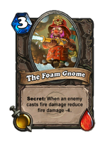 Foam Gnome card by muzski