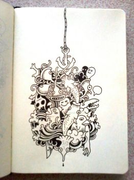 DAILY DOODLES: A good catch by kerbyrosanes