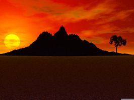 A Beautiful Sunset by angels-insanity