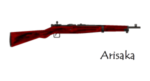 Arisaka Bolt Action Rifle by pete7868