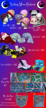 Commissions Sheet by SmilingMoonCreations