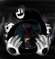 [Undertale] - W.D.Gaster and Real Laboratory by EngieTheCat