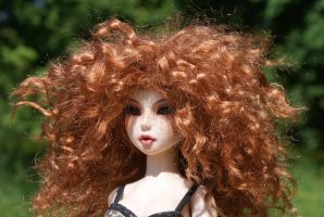 Sserein Red Face by beedoll