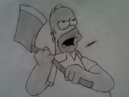 Homer Simpson by kaiser33