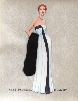 Suzy Parker paper doll by pdgregg