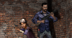 Lee Everett and Clementine by KINGofSPAR7AA