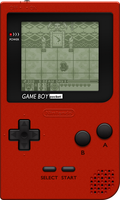Nintendo Game Boy Pocket [Red] by BLUEamnesiac