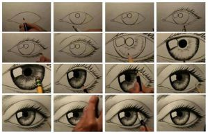 Eye Drawing by IYaoiLover