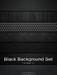 Black Background Set by iAmFreeman