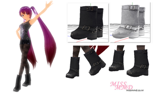 Miss MMD Original Boot Version 2 by missmmd