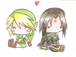 Chibi Love -LinkxSoren- by XxSaorixX
