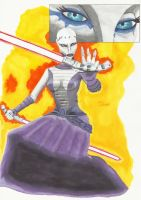 Clone Wars - Asajj Ventress by TolZsolt