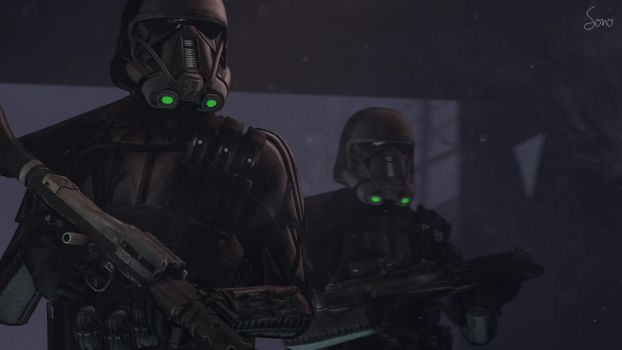 Death Troopers by Sonoafafayon