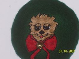 Otter Cross Stitch by Joce-in-Stitches