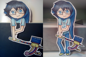 Bookmark Cutout 8: Do the Windy Thing by donutpolice