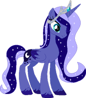 AT: Princess Luna by Starlollipop