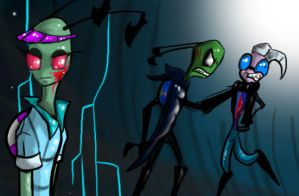 Invader Zim Comission by Avafaidian