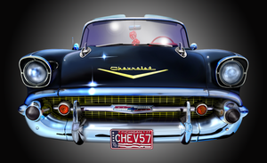 '57 Chevrolet Bel Aire by musksnipe